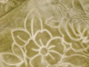 Koc Akrylowy tłoczony rozmiar 160x210 kolor OLIWKOWY 21