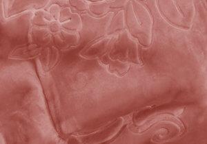 Koc Akrylowy rozmiar 160x210 kolor Brudny różowy